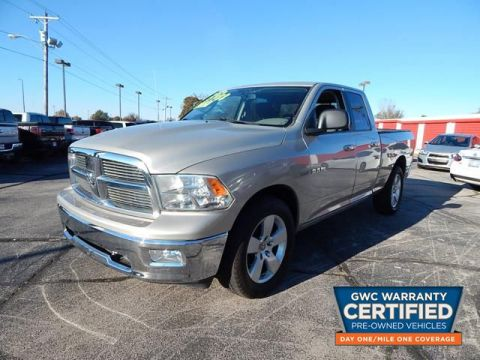 Pre-Owned 2010 DODGE RAM 1500 QUAD 4X4