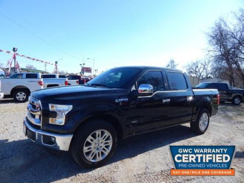 Pre-Owned 2015 FORD F150 SUPERCREW SUPERCREW