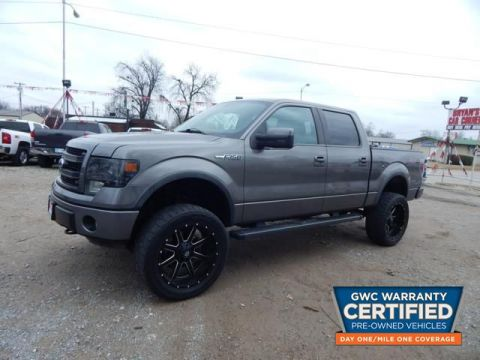 Pre-Owned 2013 FORD F150 SUPERCREW FX4