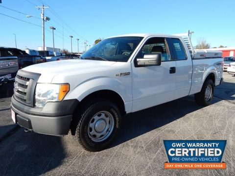 Pre-Owned 2010 FORD F150 SUPER CAB XL 4X4  TRUCK
