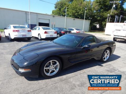 Pre-Owned 2004 CHEVROLET CORVETTE  Rear Wheel Drive CAR