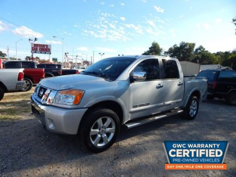 Pre-Owned 2014 NISSAN TITAN  Four Wheel Drive TRUCK