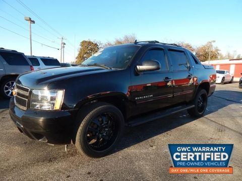 Pre-Owned 2012 CHEVROLET AVALANCHE LT