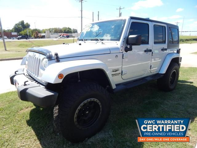 Pre-Owned 2012 JEEP WRANGLER UNLIMITED SAHARA SAHARA