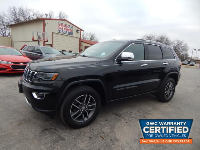 Pre-Owned 2017 JEEP GRAND CHEROKEE LIMITED LIMITED