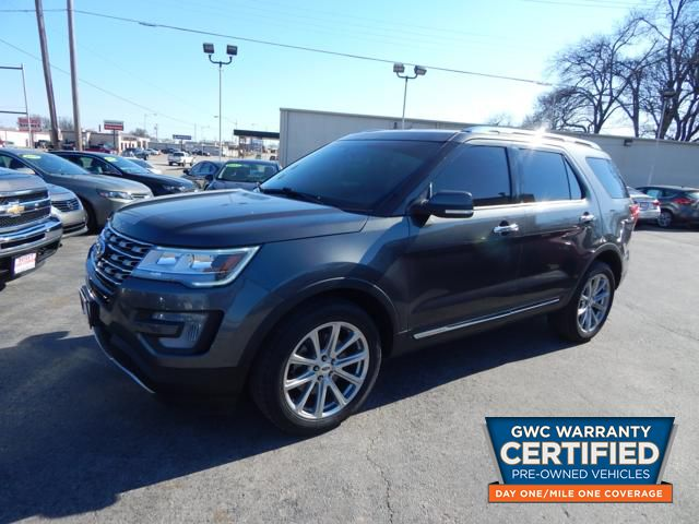 Pre-Owned 2017 FORD EXPLORER LIMITED LIMITED