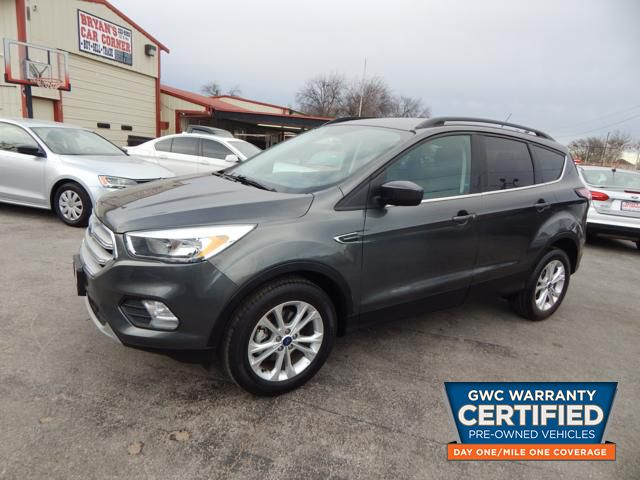 Pre Owned 2018 Ford Escape Se Se Suv In Jua12506 Bryans Car Corner