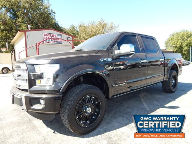 Pre-Owned 2015 FORD F150 SUPERCREW 4X4 PLATINUM