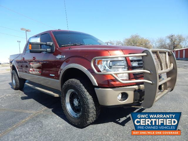 Pre-Owned 2014 FORD F150 SUPERCREW KING RANCH