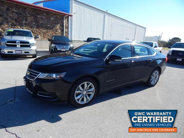 Pre Owned 2018 Chevrolet Impala Lt Car In Ju119686 Bryans Car Corner