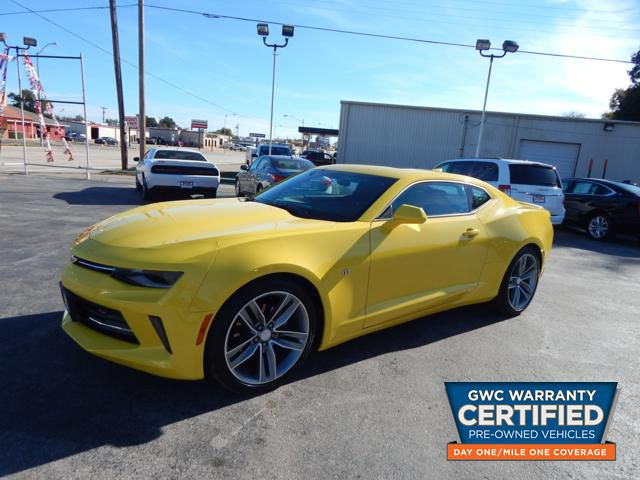 Pre Owned 2018 Chevrolet Camaro Lt Lt Car In J0127421 Bryans Car