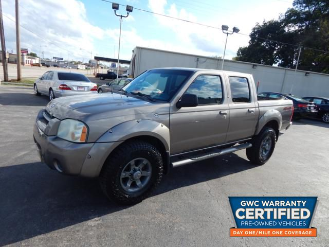Pre Owned 2004 NISSAN FRONTIER CREW CAB XE V6