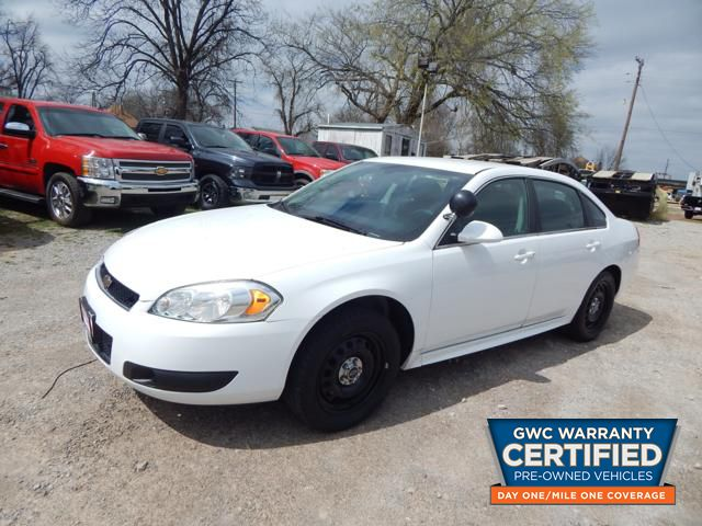Pre-Owned 2014 CHEVROLET IMPALA LIMITED POLICE POLICE