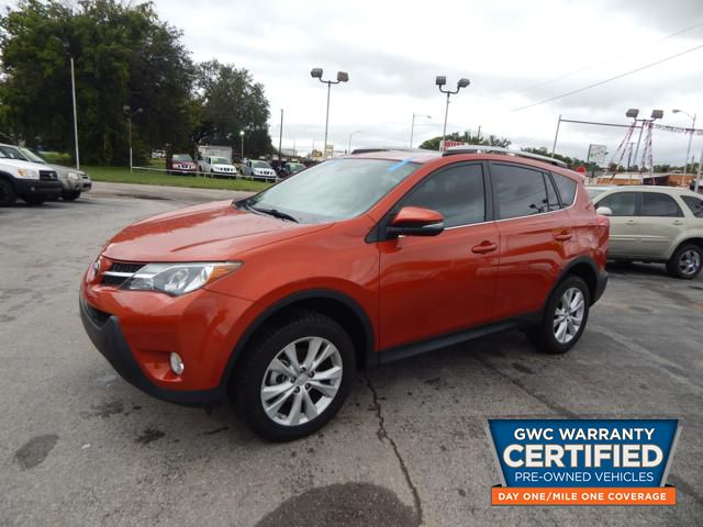 Pre Owned 2015 Toyota Rav4 Limited Limited Suv In Fw178641 Bryans