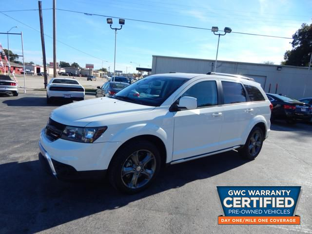 Pre Owned 2017 Dodge Journey Crossroad Suv In Ht542828 Bryans Car