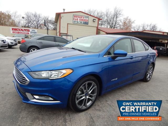 Pre-Owned 2017 FORD FUSION SE HYBRID