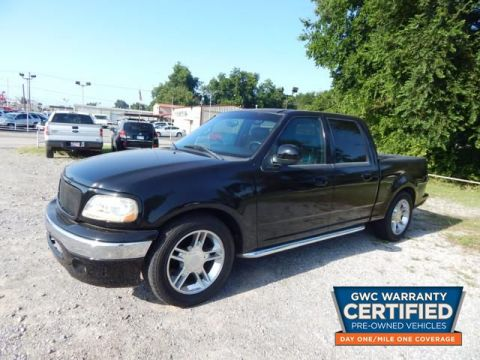 Pre-Owned 2001 FORD F150 SUPERCREW SUPERCREW