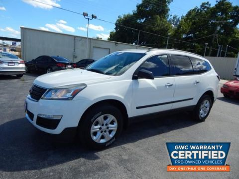 Pre-Owned 2013 CHEVROLET TRAVERSE LS LS
